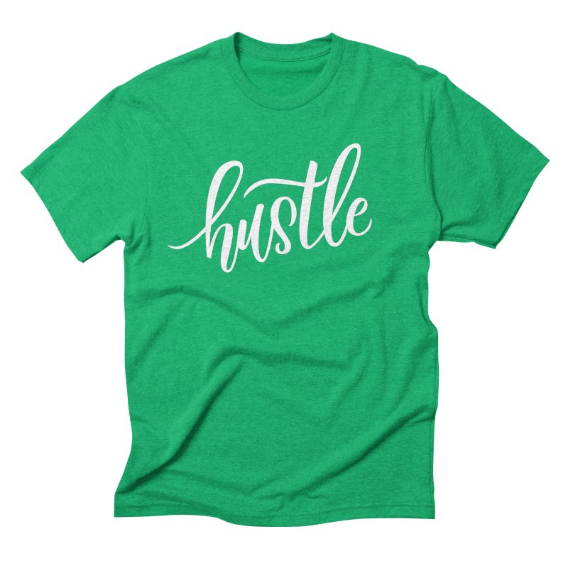 hustle Men's Triblend T-Shirt by Hyssop Design
