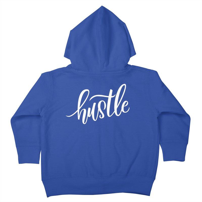 hustle Kids Toddler Zip-Up Hoody by Hyssop Design
