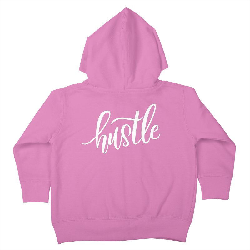 hustle Kids Toddler Zip-Up Hoody by Hyssop Design