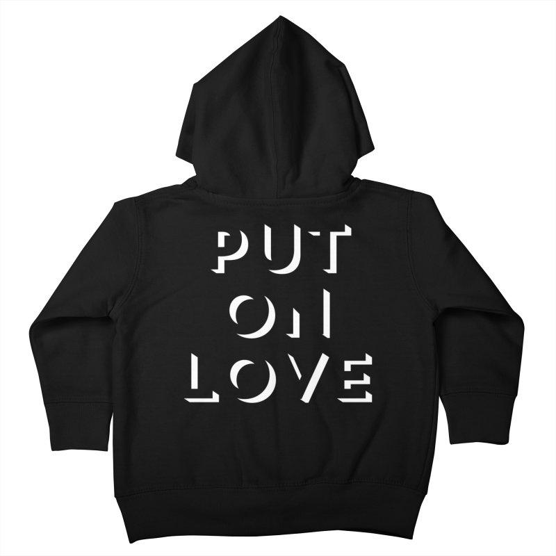 Put On Love Kids Toddler Zip-Up Hoody by Hyssop Design