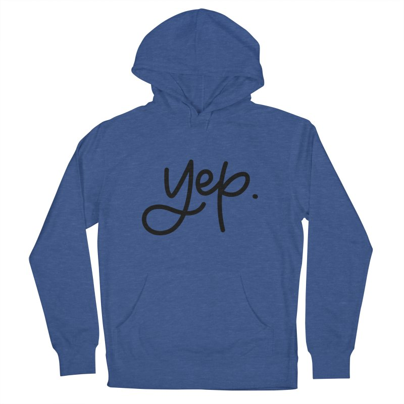yep. Men's French Terry Pullover Hoody by Hyssop Design