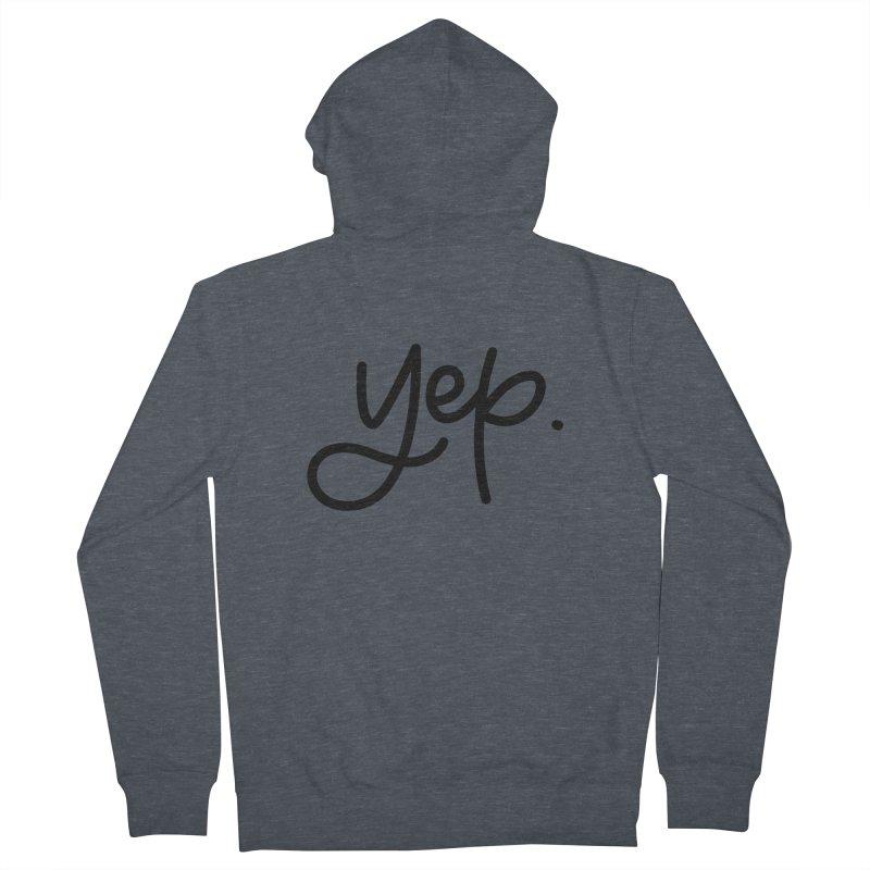 yep. Men's Zip-Up Hoody by Hyssop Design