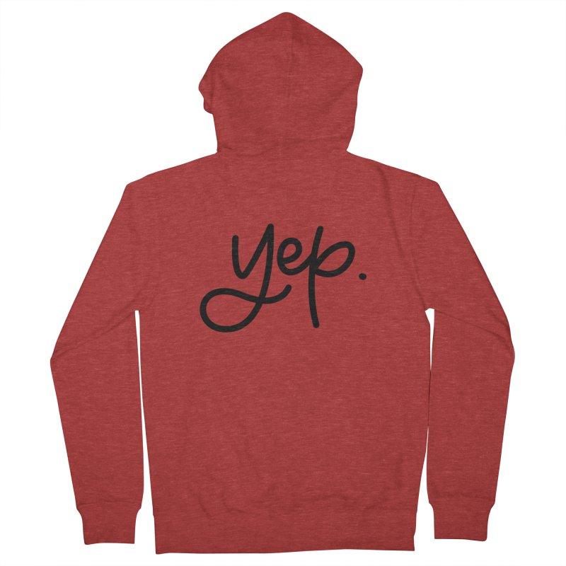 yep. Men's French Terry Zip-Up Hoody by Hyssop Design