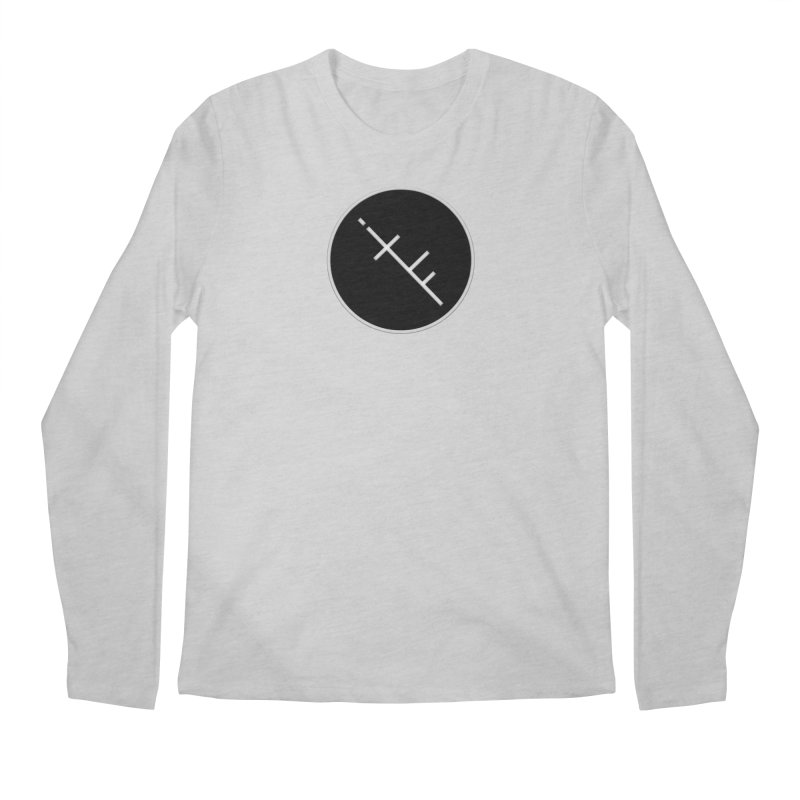 iTF LOGO Men's Regular Longsleeve T-Shirt by iNTO THE FRAY RADIO