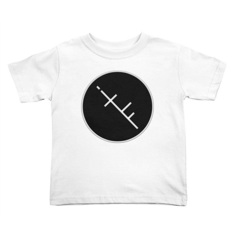 iTF LOGO Kids Toddler T-Shirt by iNTO THE FRAY RADIO