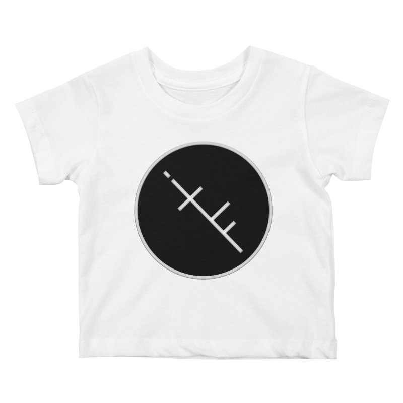 iTF LOGO Kids Baby T-Shirt by iNTO THE FRAY RADIO