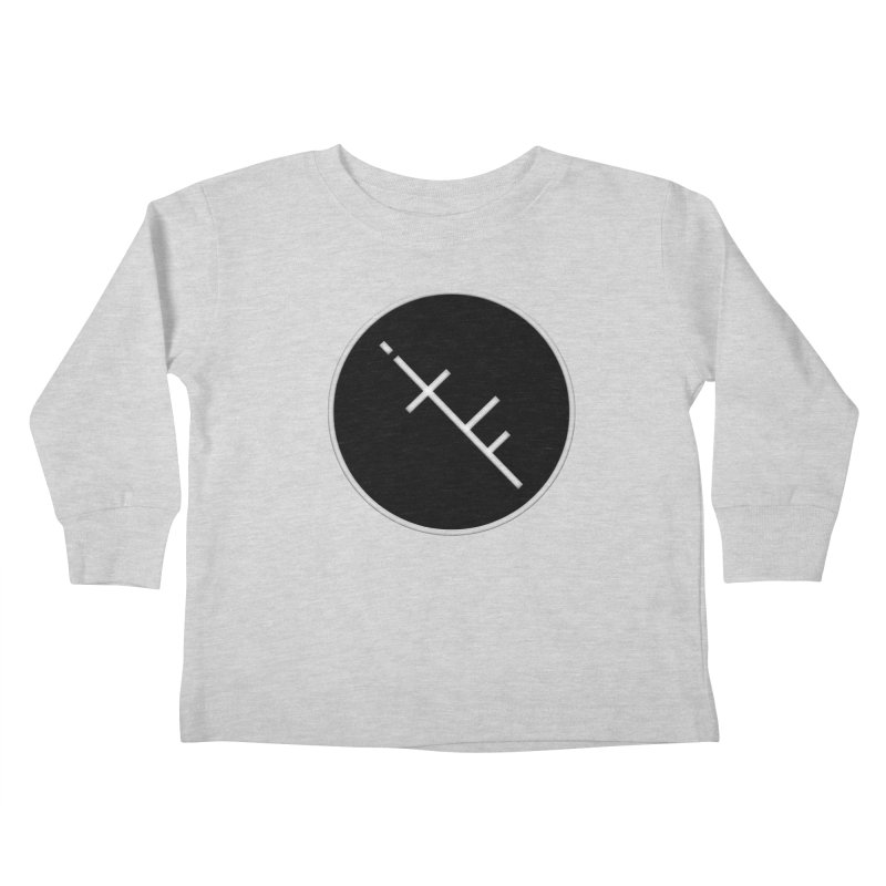 iTF LOGO Kids Toddler Longsleeve T-Shirt by iNTO THE FRAY RADIO