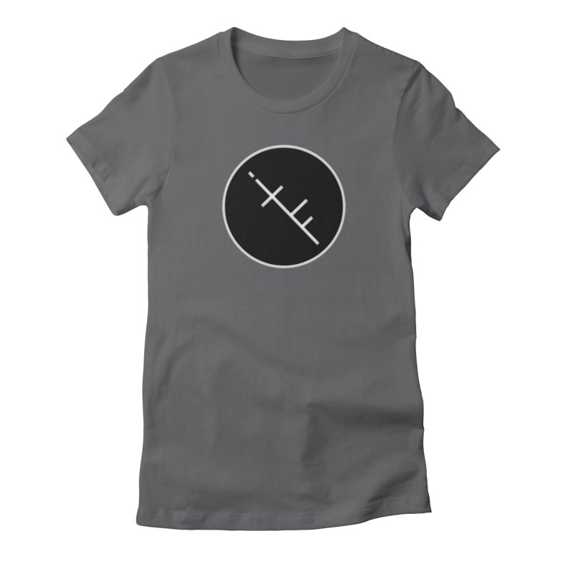 iTF LOGO Women's Fitted T-Shirt by iNTO THE FRAY RADIO