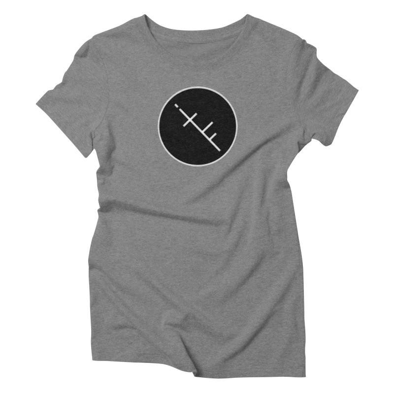 iTF LOGO Women's Triblend T-shirt by iNTO THE FRAY RADIO