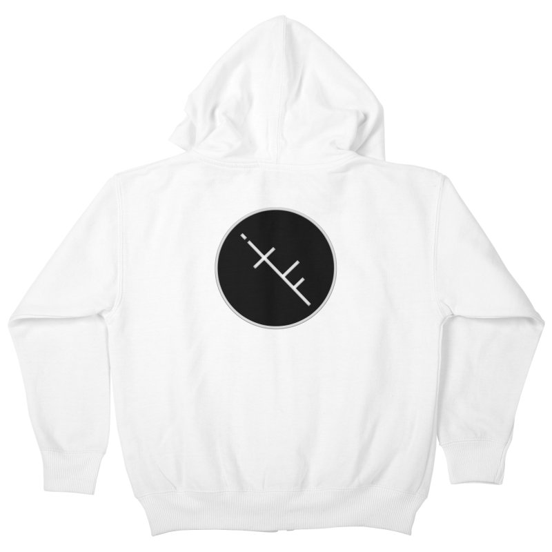 iTF LOGO Kids Zip-Up Hoody by iNTO THE FRAY RADIO