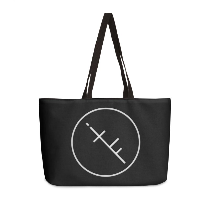 iTF LOGO Accessories Weekender Bag Bag by iNTO THE FRAY RADIO