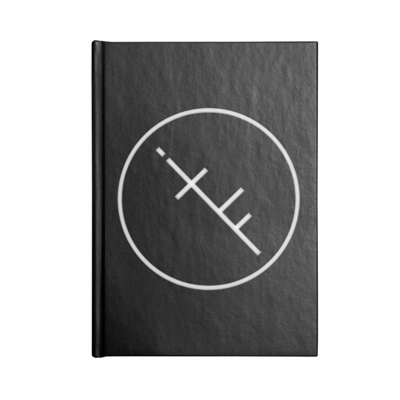 iTF LOGO Accessories Blank Journal Notebook by iNTO THE FRAY RADIO