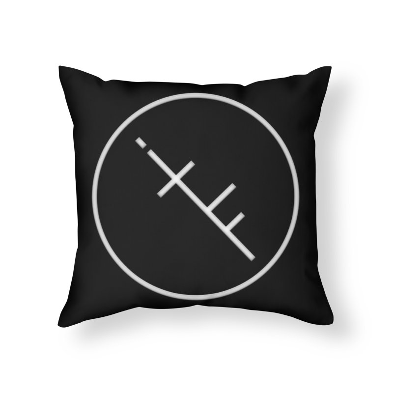 iTF LOGO Home Throw Pillow by iNTO THE FRAY RADIO