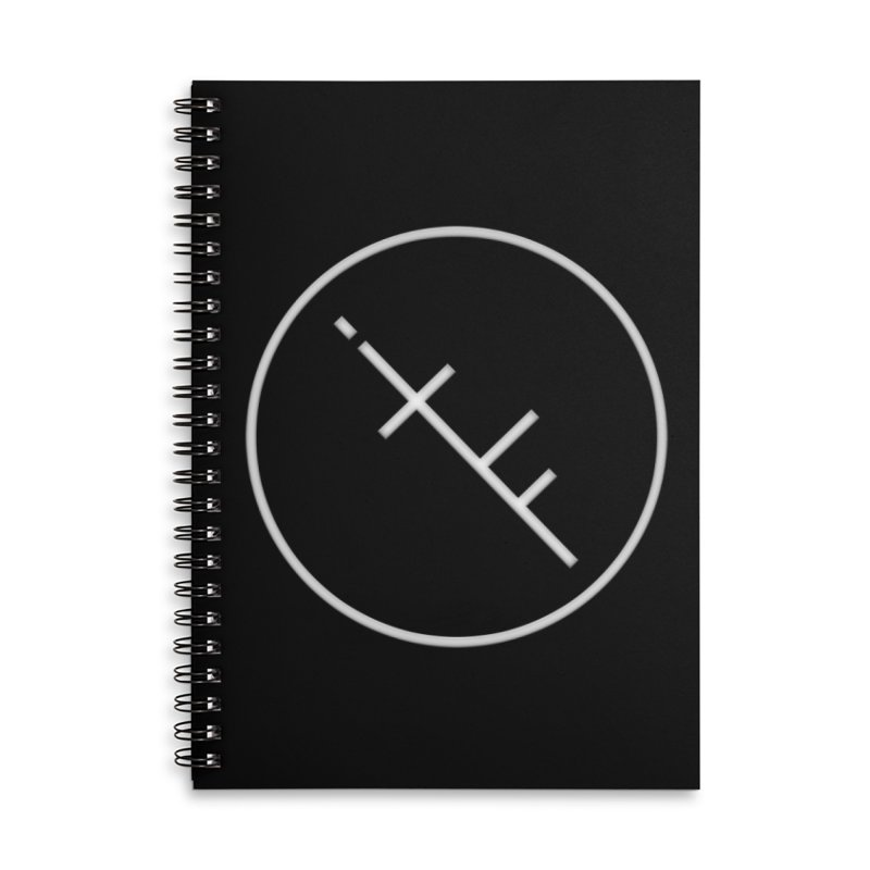 iTF LOGO in Lined Spiral Notebook by iNTO THE FRAY RADIO