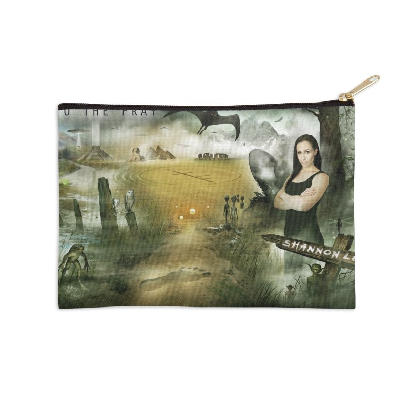 Surrounded... Accessories Zip Pouch by iNTO THE FRAY RADIO