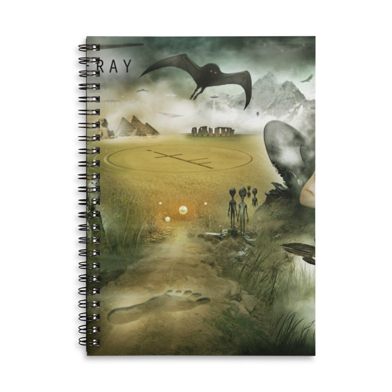 Surrounded... Accessories Notebook by iNTO THE FRAY RADIO