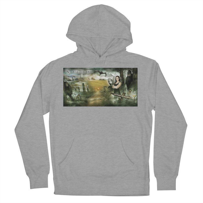 Surrounded... Women's French Terry Pullover Hoody by iNTO THE FRAY RADIO