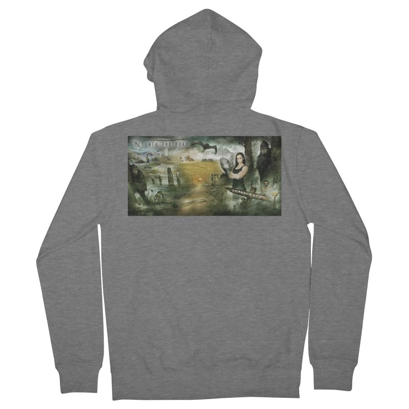 Surrounded... Women's Zip-Up Hoody by iNTO THE FRAY RADIO