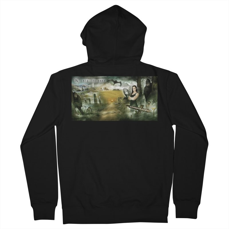 Surrounded... Women's French Terry Zip-Up Hoody by iNTO THE FRAY RADIO
