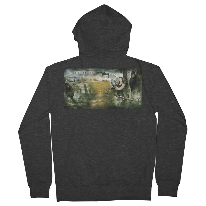 Surrounded... Men's French Terry Zip-Up Hoody by iNTO THE FRAY RADIO