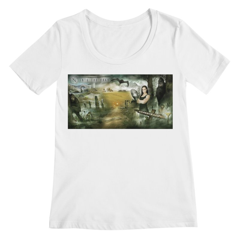 Surrounded... Women's Regular Scoop Neck by iNTO THE FRAY RADIO