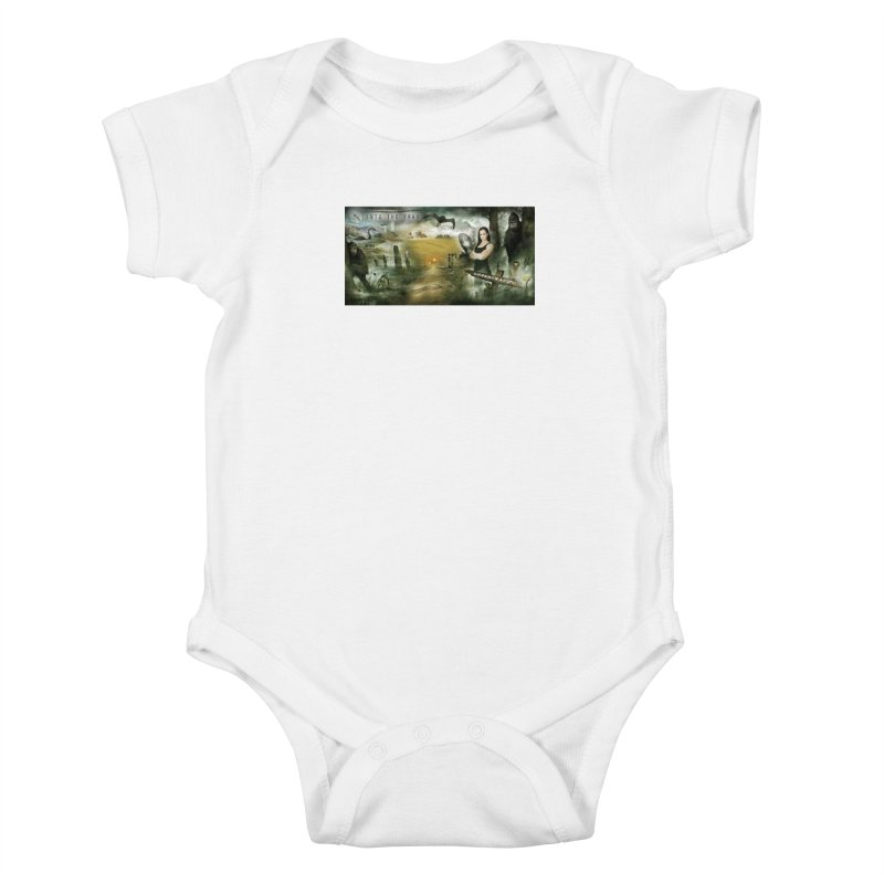 Surrounded... Kids Baby Bodysuit by iNTO THE FRAY RADIO