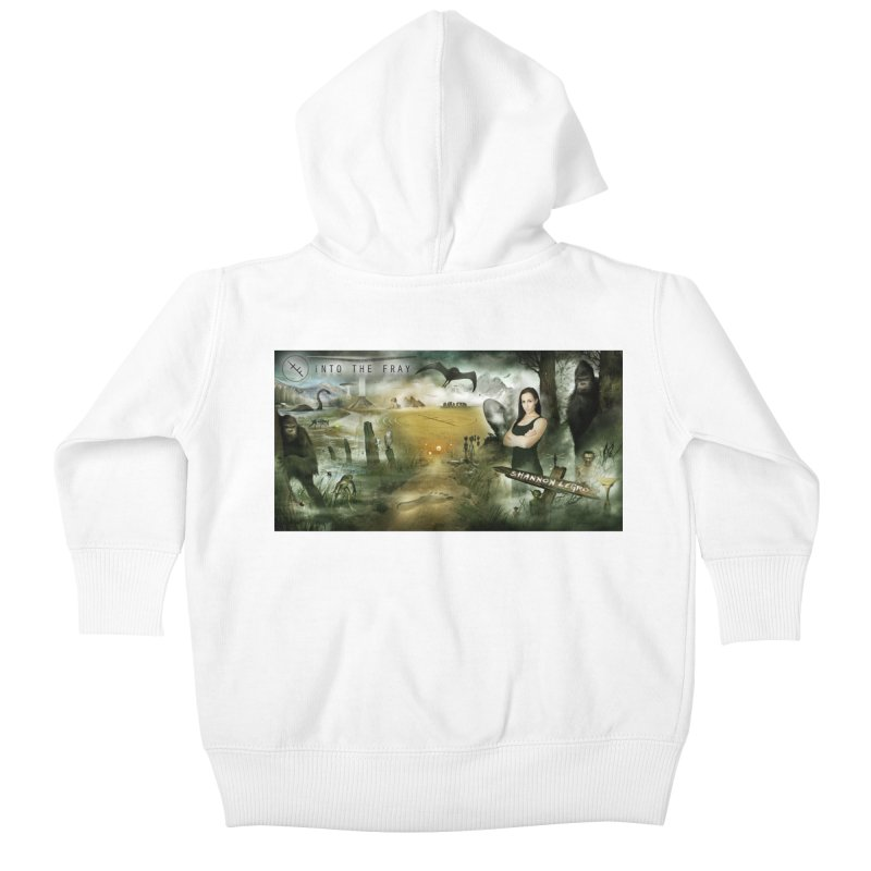 Surrounded... Kids Baby Zip-Up Hoody by iNTO THE FRAY RADIO