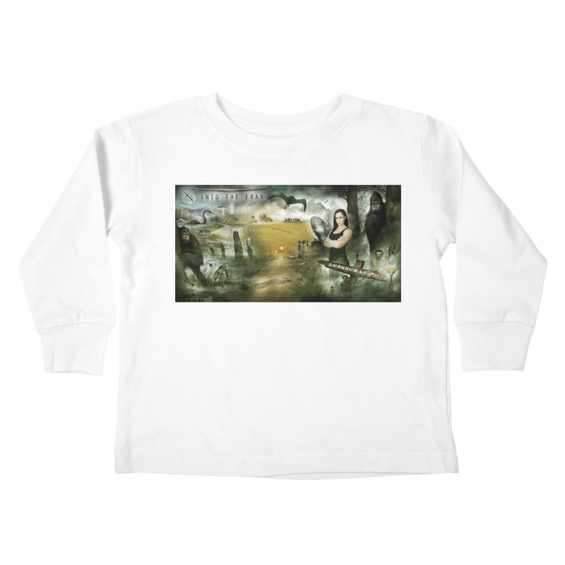 Surrounded... Kids Toddler Longsleeve T-Shirt by iNTO THE FRAY RADIO