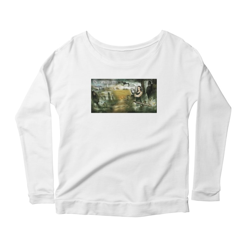 Surrounded... Women's Scoop Neck Longsleeve T-Shirt by iNTO THE FRAY RADIO