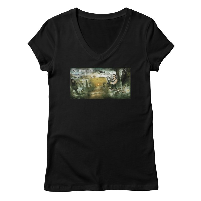 Surrounded... Women's Regular V-Neck by iNTO THE FRAY RADIO