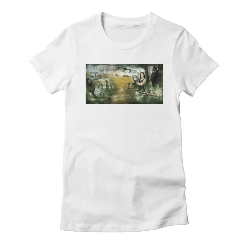 Surrounded... Women's Fitted T-Shirt by iNTO THE FRAY RADIO