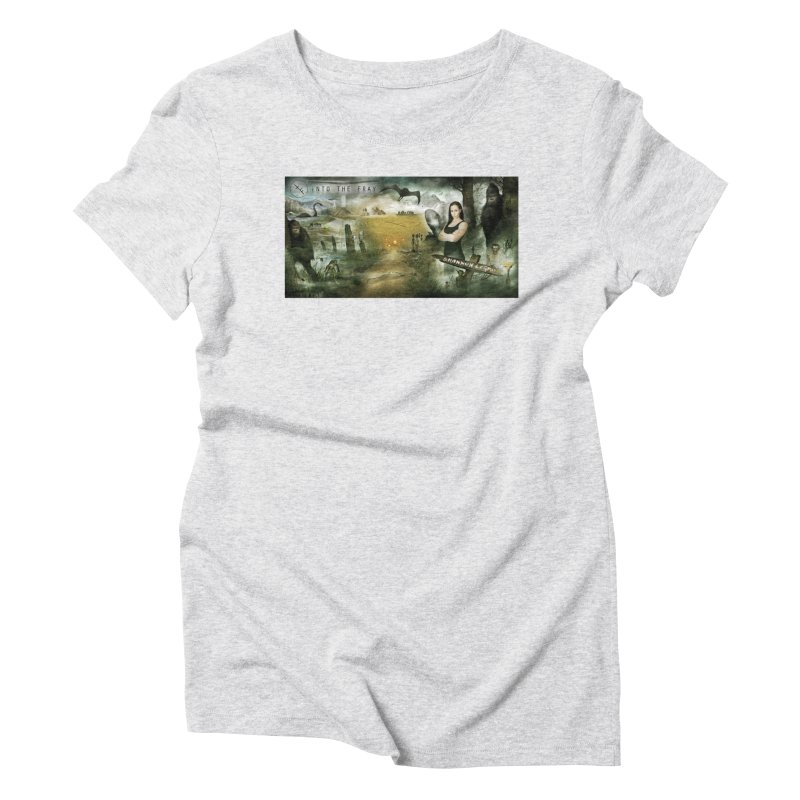 Surrounded... Women's Triblend T-Shirt by iNTO THE FRAY RADIO
