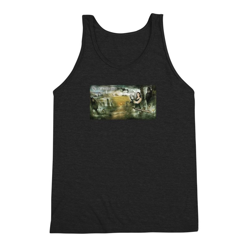 Surrounded... Men's Triblend Tank by iNTO THE FRAY RADIO