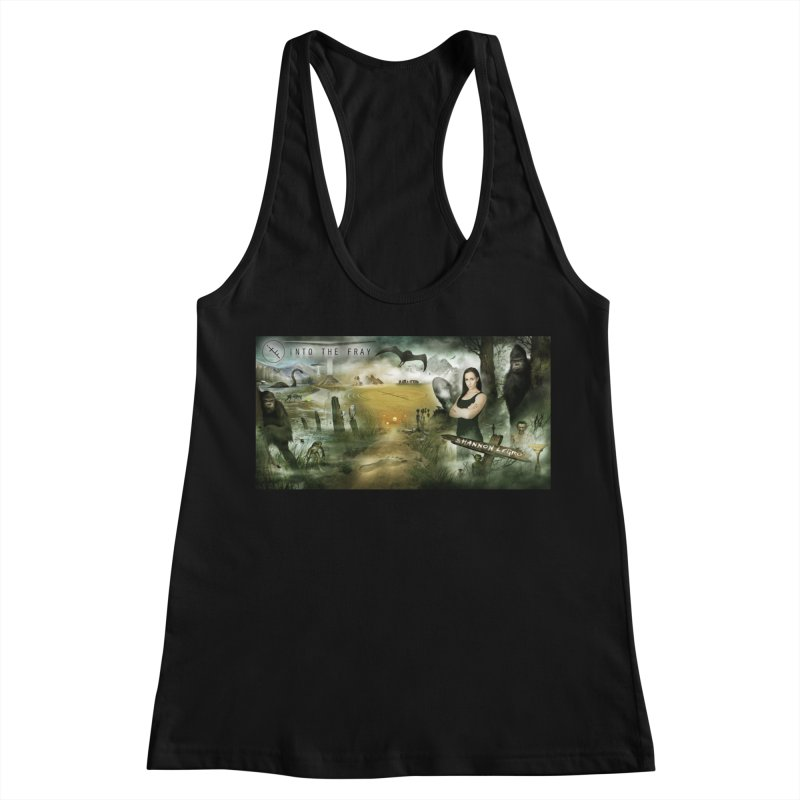 Surrounded... Women's Racerback Tank by iNTO THE FRAY RADIO