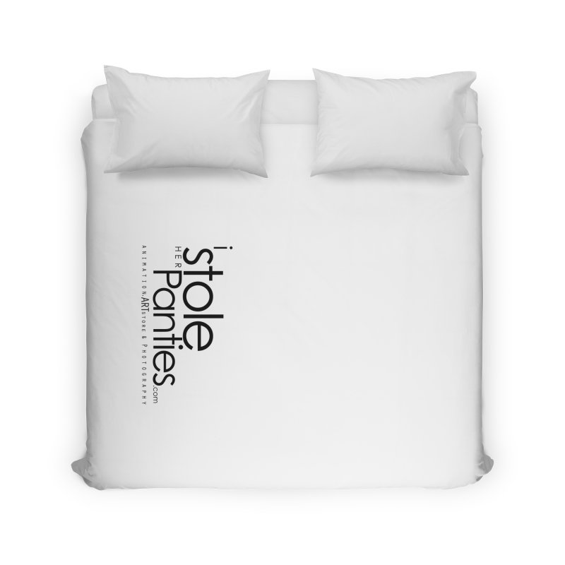 iStoleHerPanties - Black Ink Home Duvet by iStoleHerPanties's Artist Shop