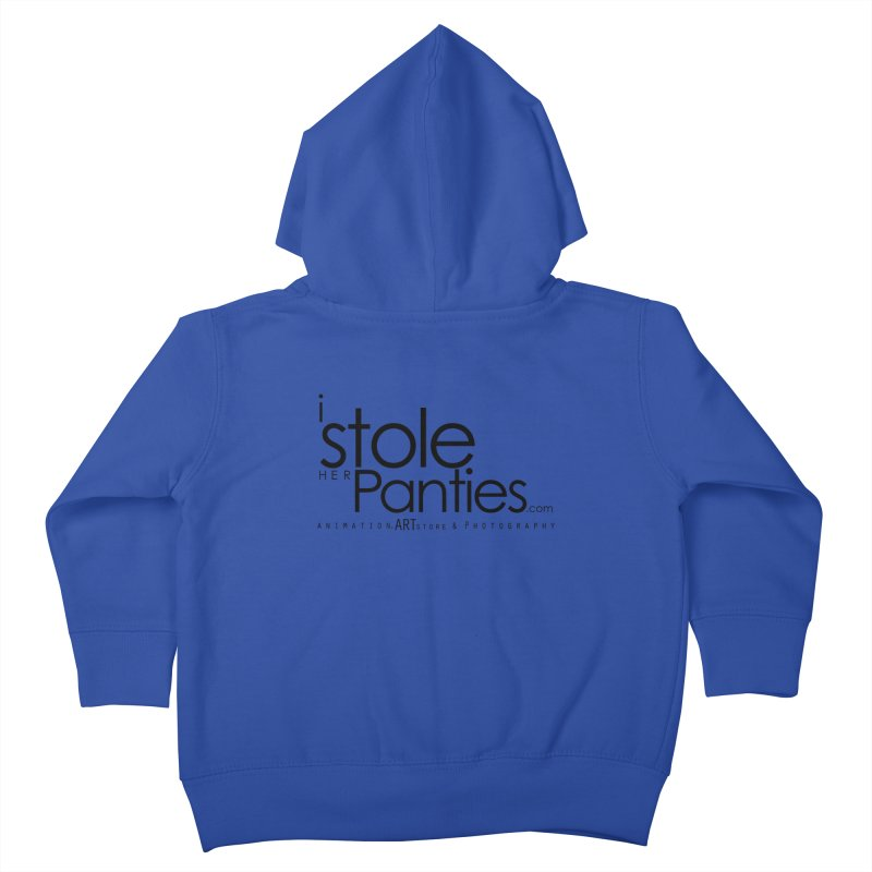 iStoleHerPanties - Black Ink Kids Toddler Zip-Up Hoody by iStoleHerPanties's Artist Shop