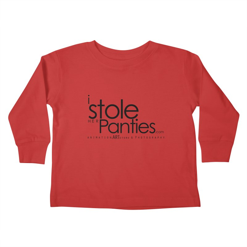 iStoleHerPanties - Black Ink Kids Toddler Longsleeve T-Shirt by iStoleHerPanties's Artist Shop