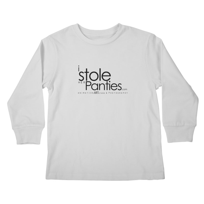iStoleHerPanties - Black Ink Kids Longsleeve T-Shirt by iStoleHerPanties's Artist Shop