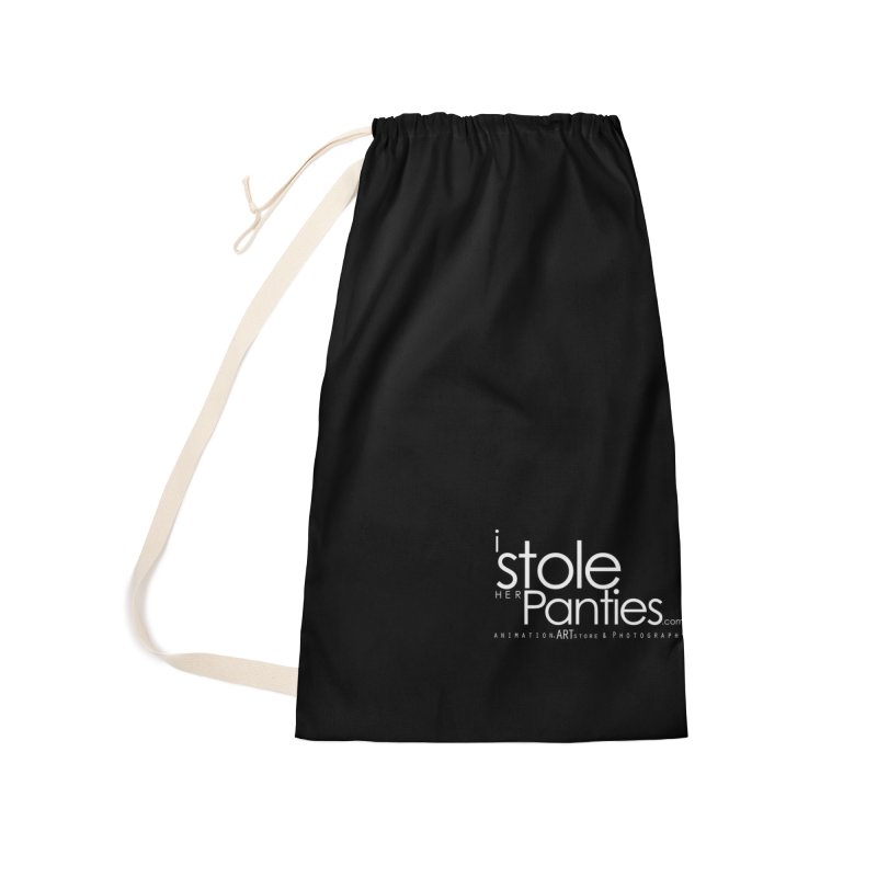 iStoleHerPanties - White Ink Accessories Laundry Bag Bag by iStoleHerPanties's Artist Shop