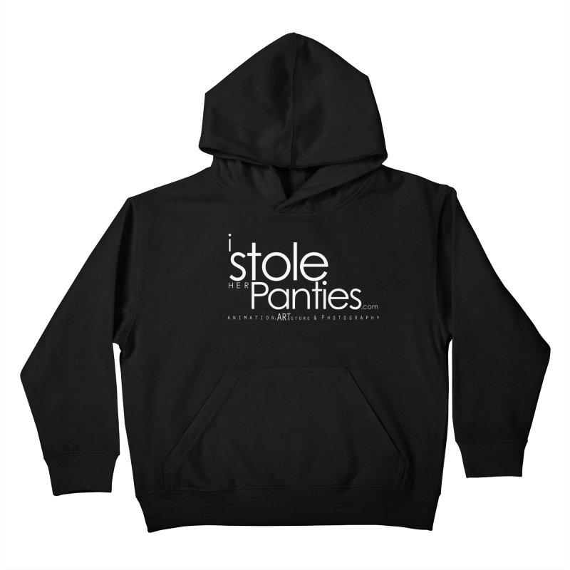 iStoleHerPanties - White Ink Kids Pullover Hoody by iStoleHerPanties's Artist Shop