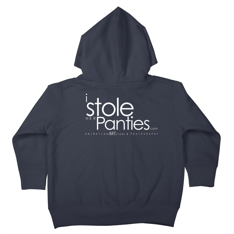 iStoleHerPanties - White Ink Kids Toddler Zip-Up Hoody by iStoleHerPanties's Artist Shop
