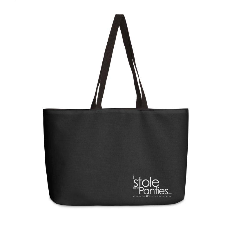 iStoleHerPanties - White Ink Accessories Weekender Bag Bag by iStoleHerPanties's Artist Shop