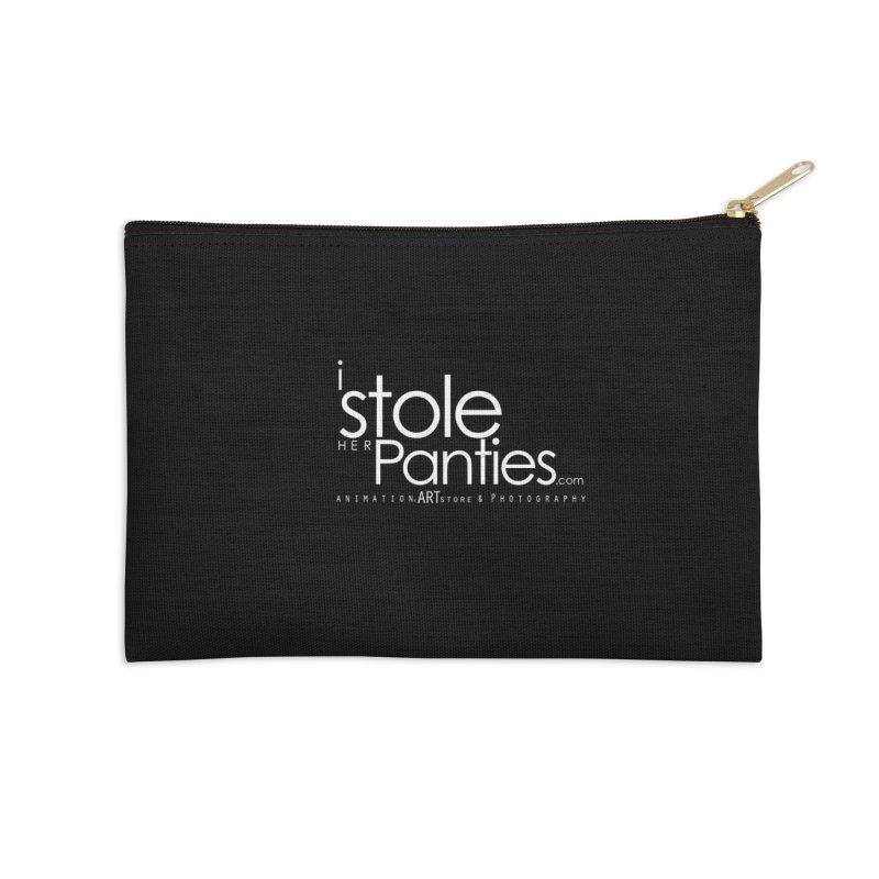 iStoleHerPanties - White Ink Accessories Zip Pouch by iStoleHerPanties's Artist Shop
