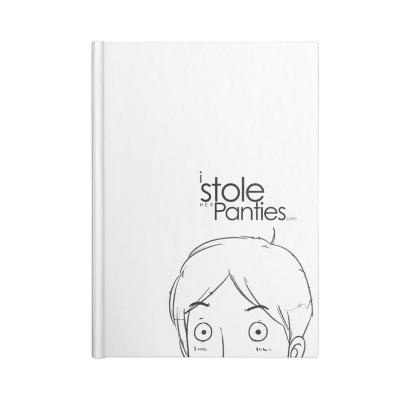 Marku & Luhta - Black Ink Accessories Blank Journal Notebook by iStoleHerPanties's Artist Shop