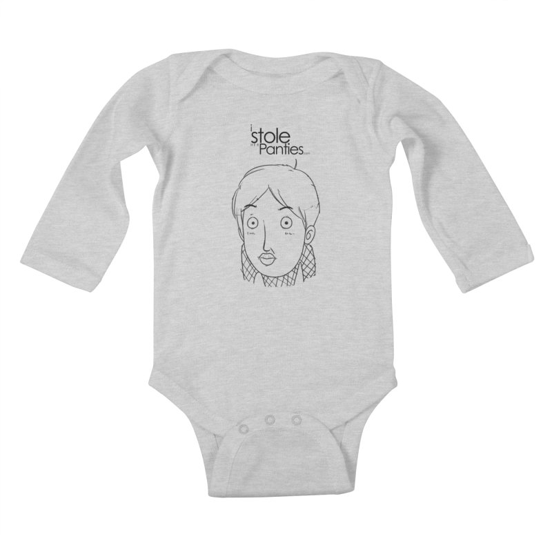 Marku & Luhta - Black Ink Kids Baby Longsleeve Bodysuit by iStoleHerPanties's Artist Shop