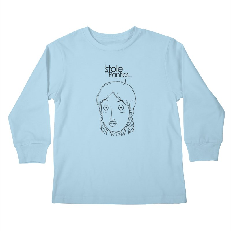 Marku & Luhta - Black Ink Kids Longsleeve T-Shirt by iStoleHerPanties's Artist Shop