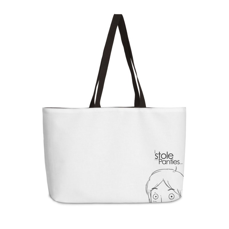 Marku & Luhta - Black Ink in Weekender Bag by iStoleHerPanties's Artist Shop