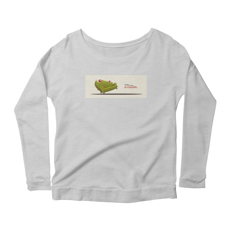 couch Boy Women's Scoop Neck Longsleeve T-Shirt by iStoleHerPanties's Artist Shop