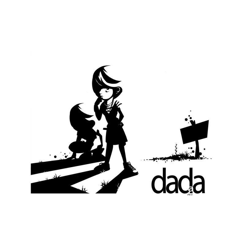 dada Women's V-Neck by iStoleHerPanties's Artist Shop