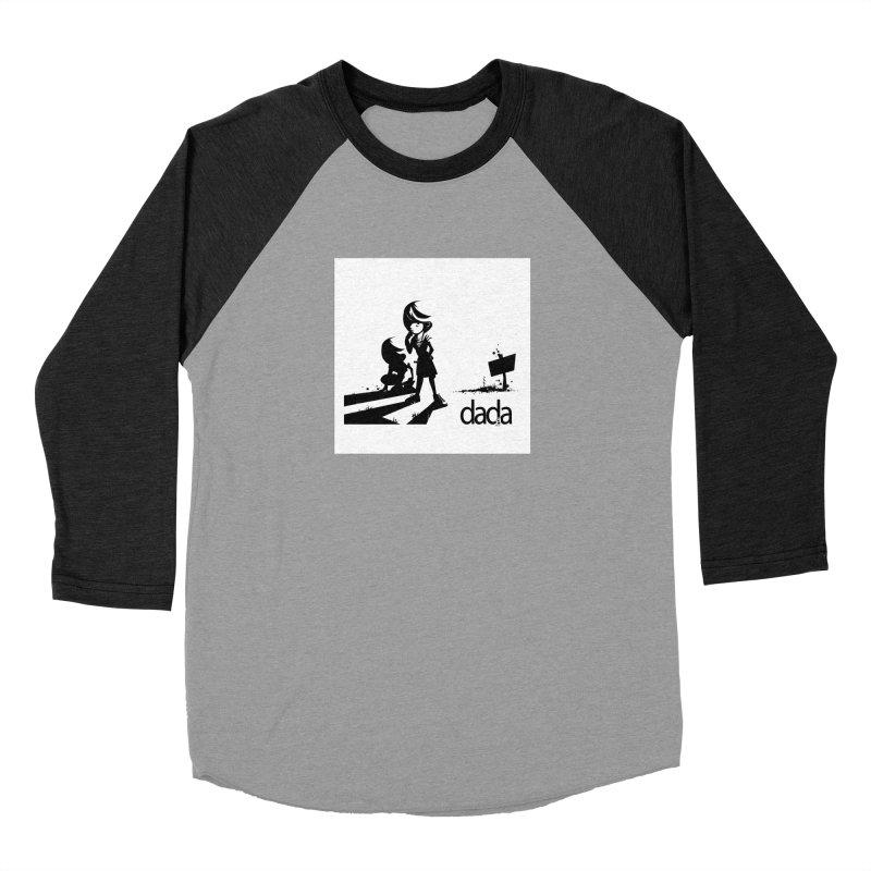 dada Men's Baseball Triblend Longsleeve T-Shirt by iStoleHerPanties's Artist Shop